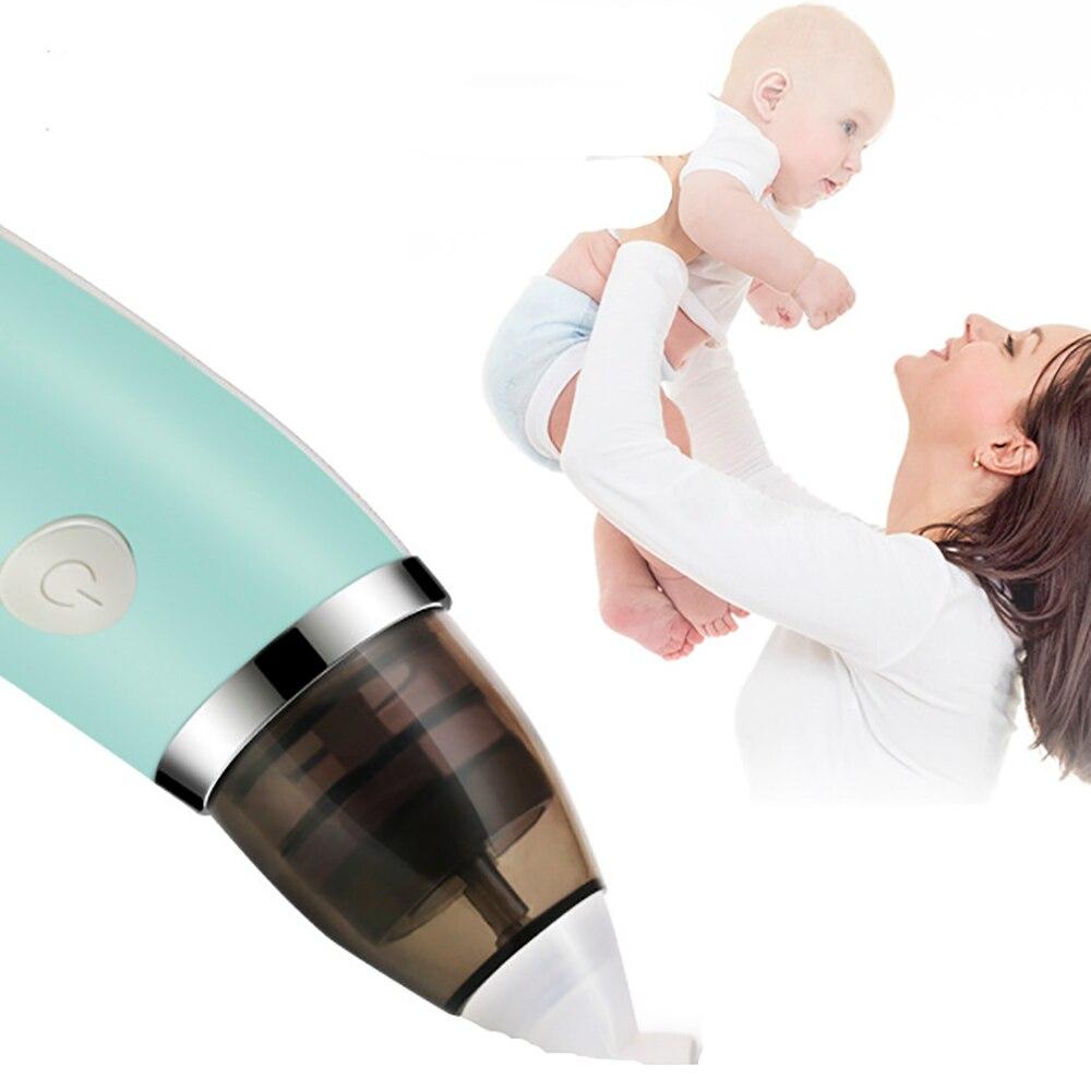 Baby Sucker Cleaner Sniffling Equipment Safe Hygienic Nose Aspirator Kid Baby Baby Nasal Aspirator Electric Nose Cleaner Newborn