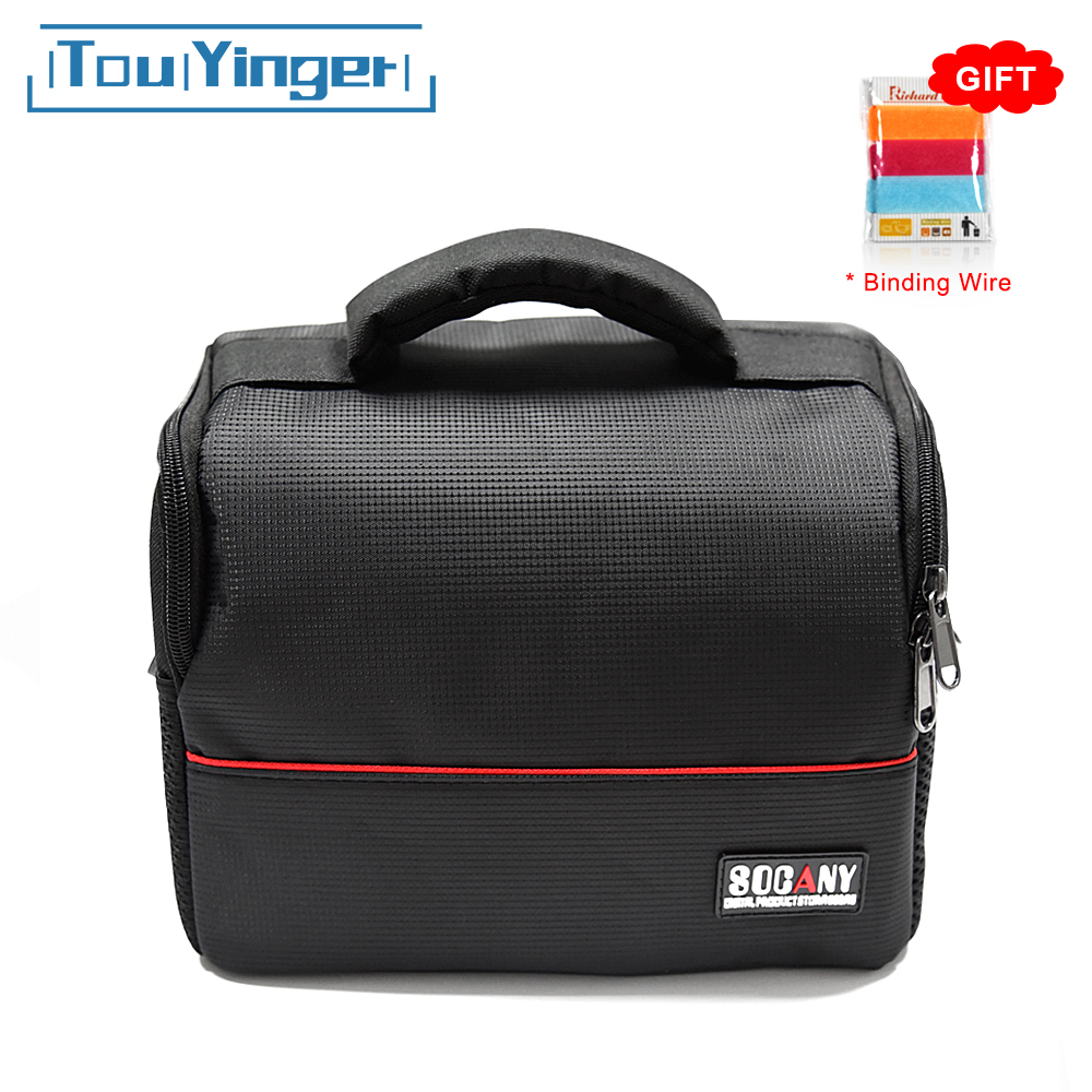 TouYinger Projector Storage Bag for X20 T4 mini Xiaomi Mijia Mini Projector support most mini projector multi-function black bag