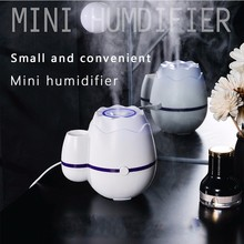 Vase Humidifier Mini Household Nebulizer Silent Air Purifier Office Desktop Humidifier Household Air Diffusion Car Purifier цены