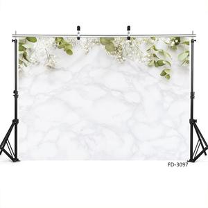 Image 3 - Snow White Flowers Photography Backdrop Vinyl Cloth Photobooth Background Studio for Children Baby Portrait Photocall Fond Photo