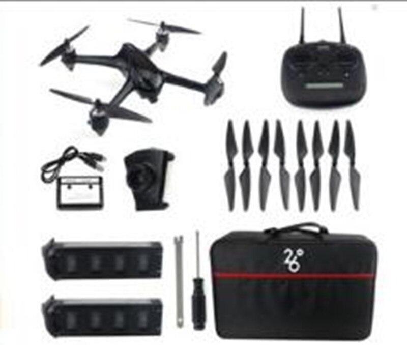 JJRC X8 GPS 5G WiFi 6 eixo giroscópio Brushless FPV Com Câmera HD 1080P Modo de Altitude Hold RC Drone Quadcopter RTF luzes LED - 6