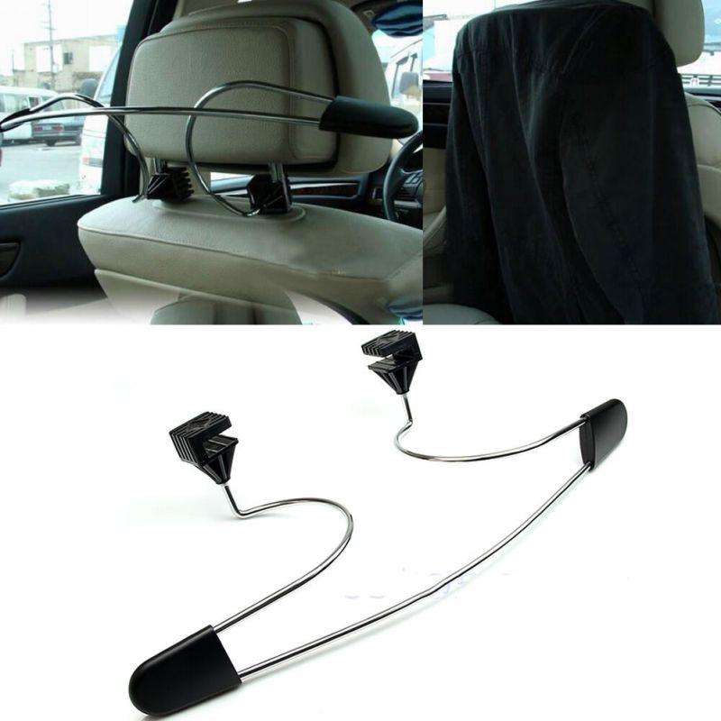 Universal Metal Headrest Car Hanger Premium Quality Clothes Holder Travel Vehicle Jacket Suit Coat Hanger
