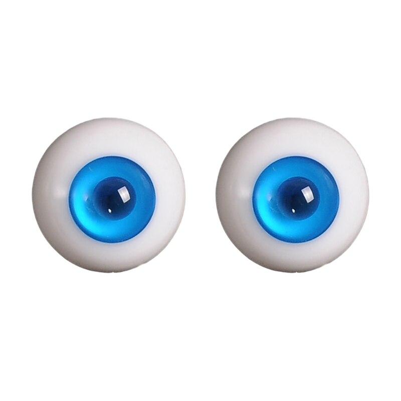 14mm 1/3 1/4 Doll Glass Eyes Doll Accessories Glasss Doll Eyeball 14