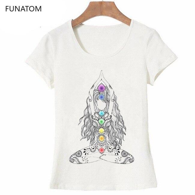 2019 New Women T-shirts Casual Harajuku 'Yoga Girls 'Tops Tee Summer Female T Shirt Short Sleeve T Shirt For Women Clothing