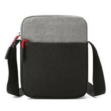 Men Waterproof Shoulder Bag Pockets Anti Theft Large Capacit