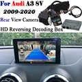 Caméra de recul pour Audi A3 8v MMI 3G/3G 2009 ~ 2020 Interface adaptateur de sauvegarde Parking avant arrière caméra affichage améliorer décodeur