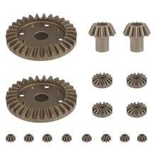 Wltoys 144001 peças atualizar engrenagem de metal 30t 16t 10t engrenagem de condução diferencial para wltoys 144001 12428 12429 12423 12429