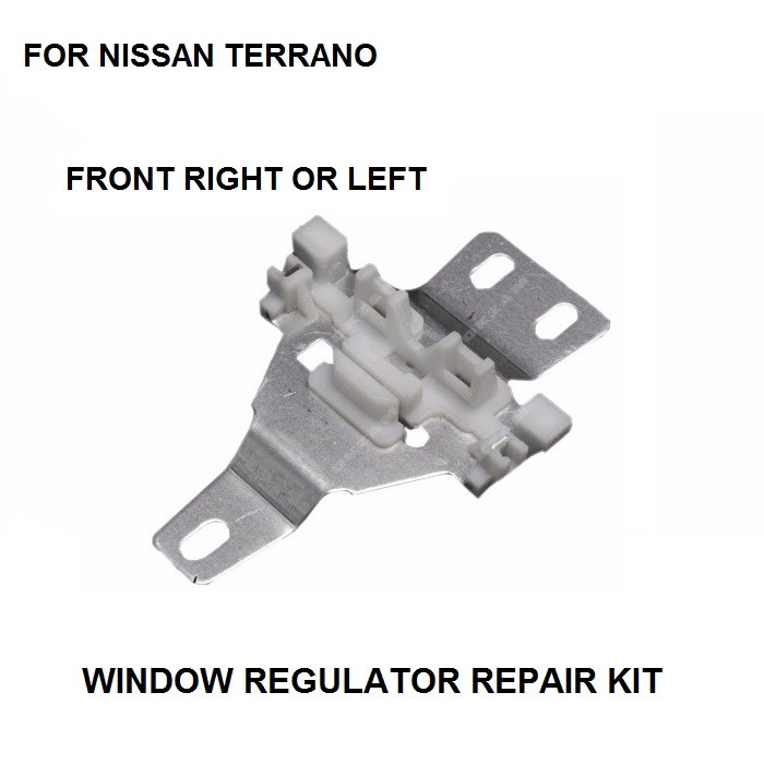 WINDOW REGULATOR REPAIR METAL SLIDER FOR NISSAN TERRANO MKII FRONT LEFT / RIGHT