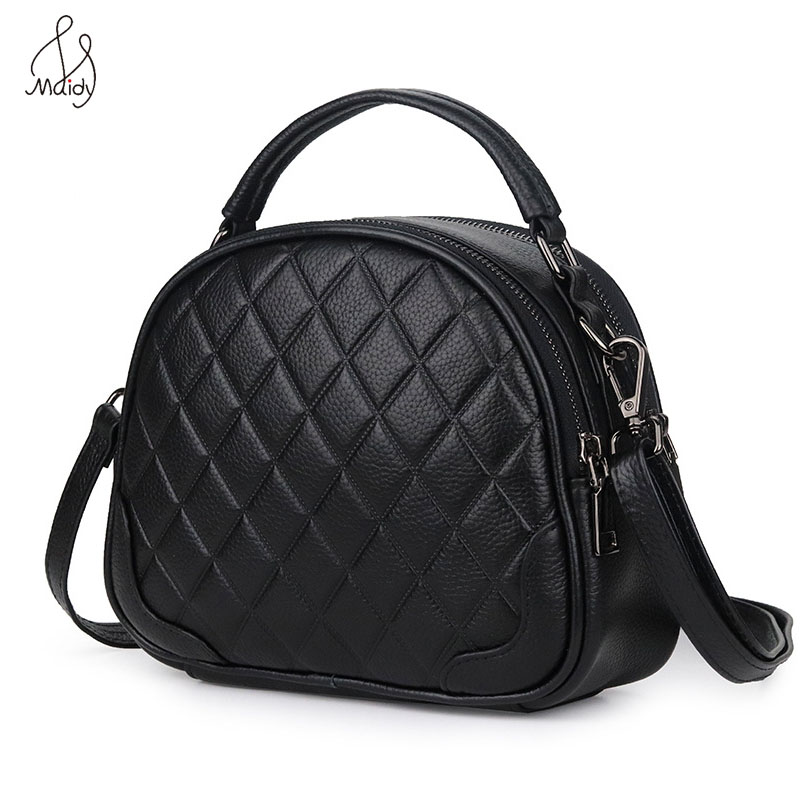 Luxury Shoulder Bags Women Genuine Leather Diamond Lattice  Handbags Ladies Totes Hand Bags Crossbody Messenger Handbag Brand