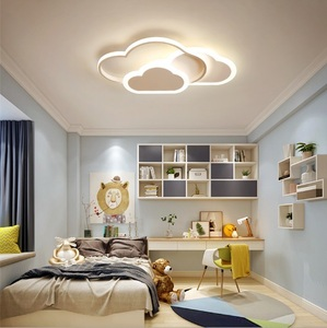 New children's room lamp led Nordic bedroom ceiling lamp creative cartoon boy and girl room lamp cloud lamps(China)