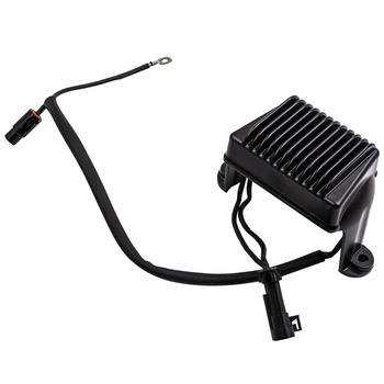 Black Electronic Voltage Regulator for Harley Touring 04-05 Rep 498267, 74505-04,498347 49-8347