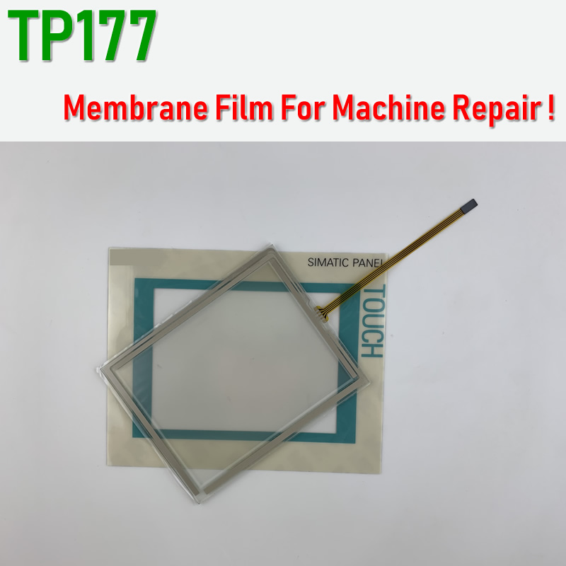 6AV6642-0BA11-0AX1 TP177 A/B Touch Screen Glass +Membrane Film For SIMATIC HMI Panel Repair~do It Yourself, Have In Stock