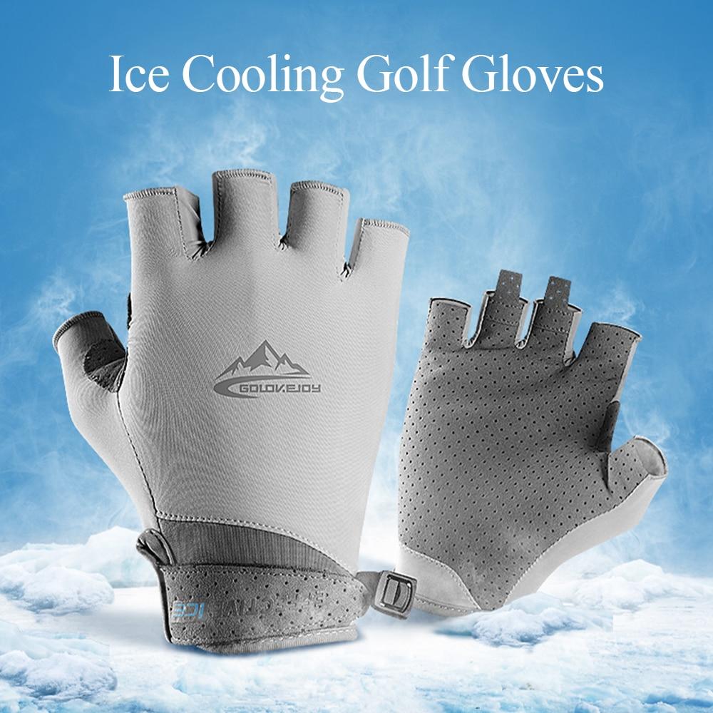 Outdoor Golf Gloves Half Finger Hand Protector for Men Sports Gloves Women Palm Golf Wear Breathable Cycling Gym Fitness dispensador de cereal peru