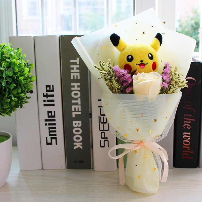 New Cute Pikachu plush stuff toy Best Gift for Children Kids Toy Christmas Gift Valentine's day