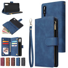 ファスナー財布小箱ケース三星M21 2020 フリップカバーサムスンギャラクシーM30s M307 M215 ケース高級革ブック電話ケースcoque