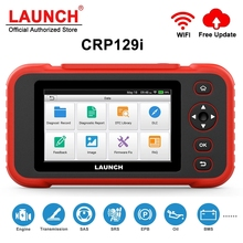 LAUNCH – CRP129i outil de Diagnostic automobile, lecteur de Code de réinitialisation, pour moteur, ABS, SRS, OBD2, huile, SAS, EPB, TPMS