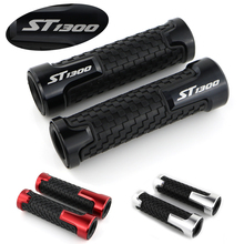 For Honda ST1300 Handlebar Handle Grip CNC Aluminum None-Slip Rubber