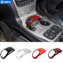 MOPAI Car Gear Shift Knob Decoration Stickers Accessories for Jeep Grand Cherokee 2014 2015 for Chrysler 300C 2012 2013 2014