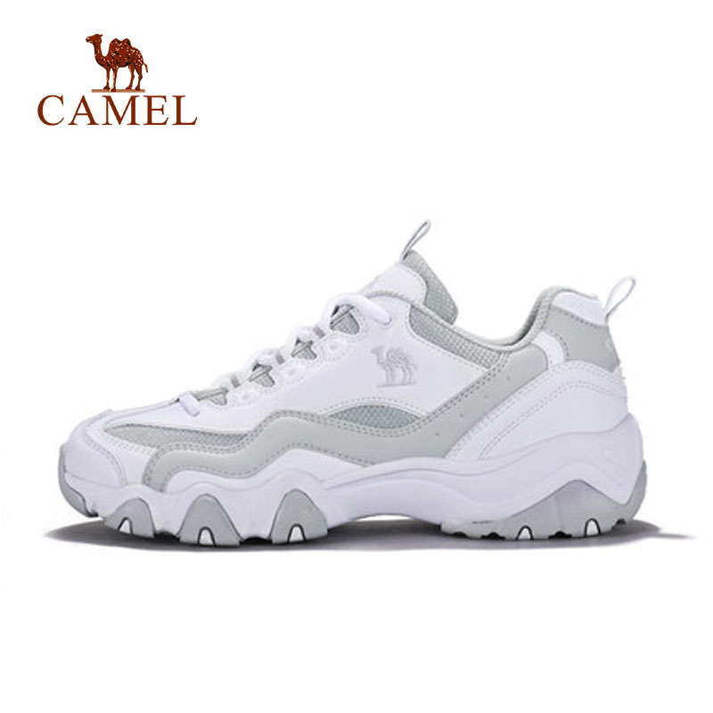 CAMEL  Women Sport Shoes Fashion Black White Anti-skid Wear-resistant Running Sports Sneaker Shoes For Women Exercise Outdoor