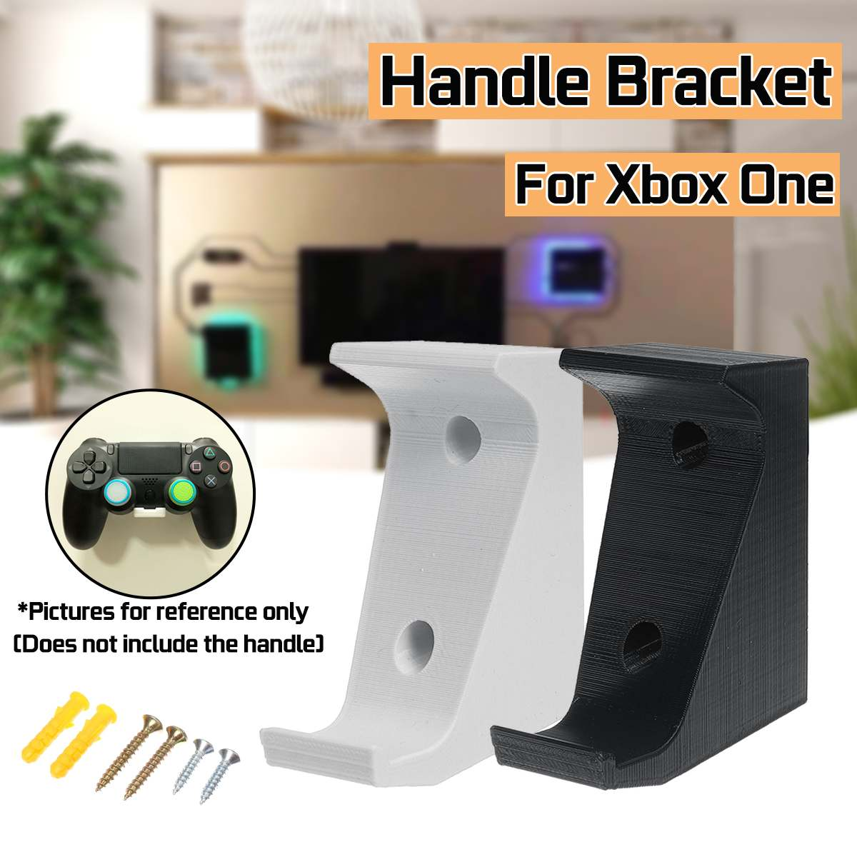 Black/White Wall Stand Holder Mount Bracket Dock For XB0X ONE Handle Game Gamepad Handle Base Remark Color/random