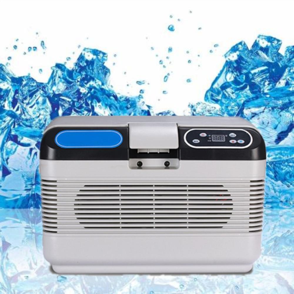 12L blanc réfrigération voiture réfrigérateur froid et chaud voiture maison Double refroidissement 220V AC/12 V DC - 4