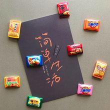 Креативная еда лапша Мгновенной Печати мини наклейка на холодильник