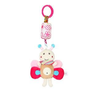 Image 3 - ガラガラのおもちゃかわいい子犬蜂ベビーカーのおもちゃガラガラ携帯ためトロリー0 12ヶ月幼児ベッドギフト