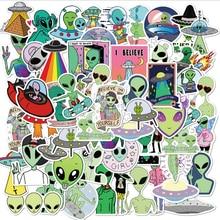 10/30/50 шт. с изображениями мультипликационных персонажей alien стикер мобильный телефон Чехол чемодан для скейтборда чехол водонепроницаемый ...