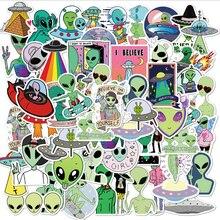 10/30/50 шт. с изображениями мультипликационных персонажей alien стикер мобильный телефон Чехол чемодан для скейтборда из водонепроницаемого ма...