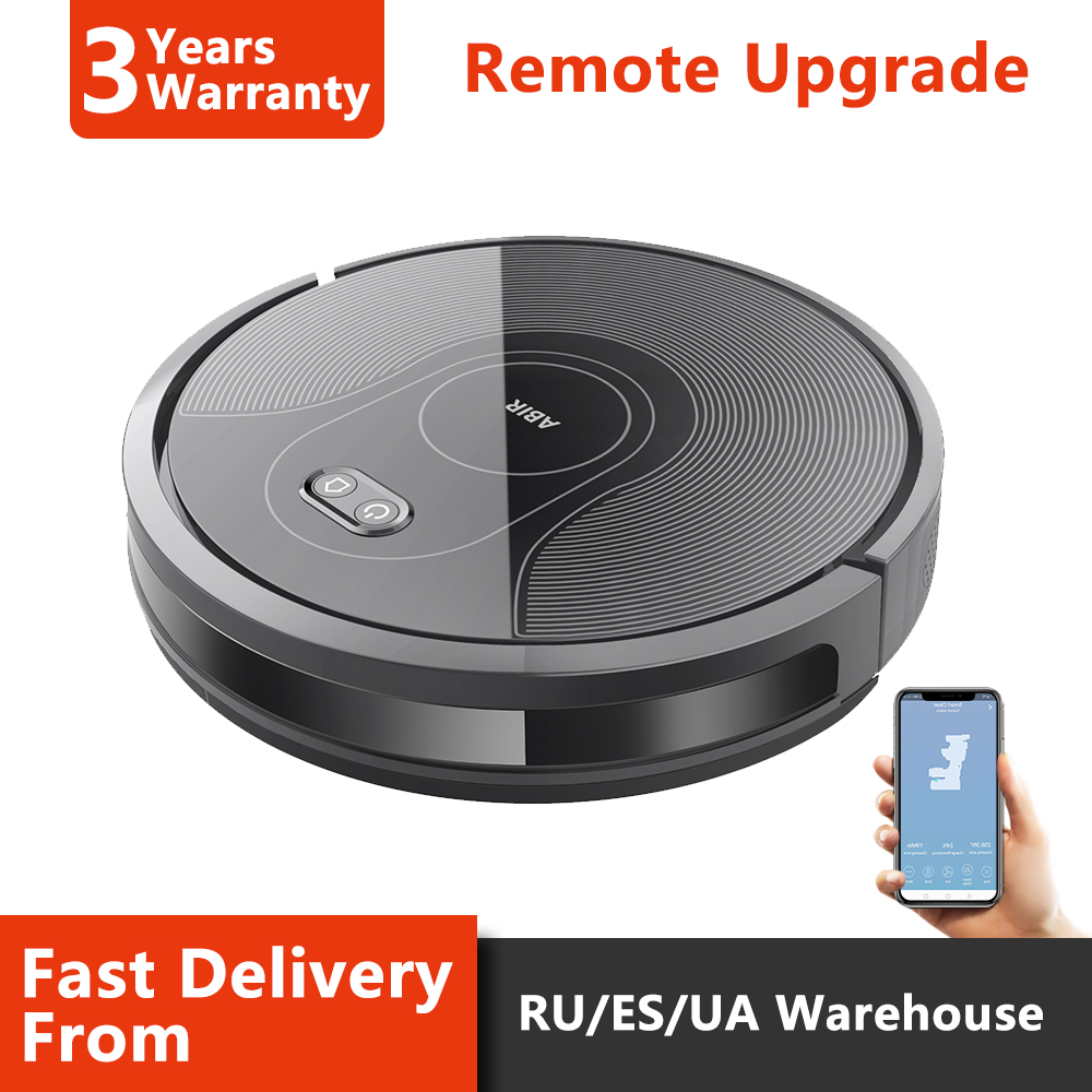Wet and Dry Robot Vacuum Cleaner home appliance ,Smart plan, WIFI APP controlled, Auto Charge,Max Mode,ABIR X5 Cleaning Robot