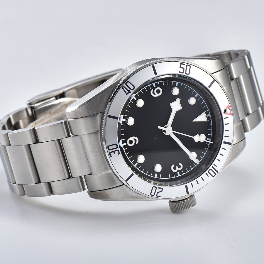 watch men automatic mechanical watch Luminous waterproof 316L Solid stainless steel 41MM  DT500z