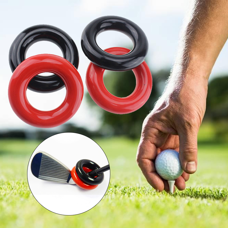 Golf Augmenter Golfing Weighted Ring Trainging Aids Action Correction Device Plastic 2 Color Outdoor Golf Add Ring
