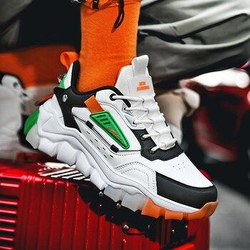 Zapatos deportivos de malla transpirables para Hombre, calzado informal de suela resistente,...