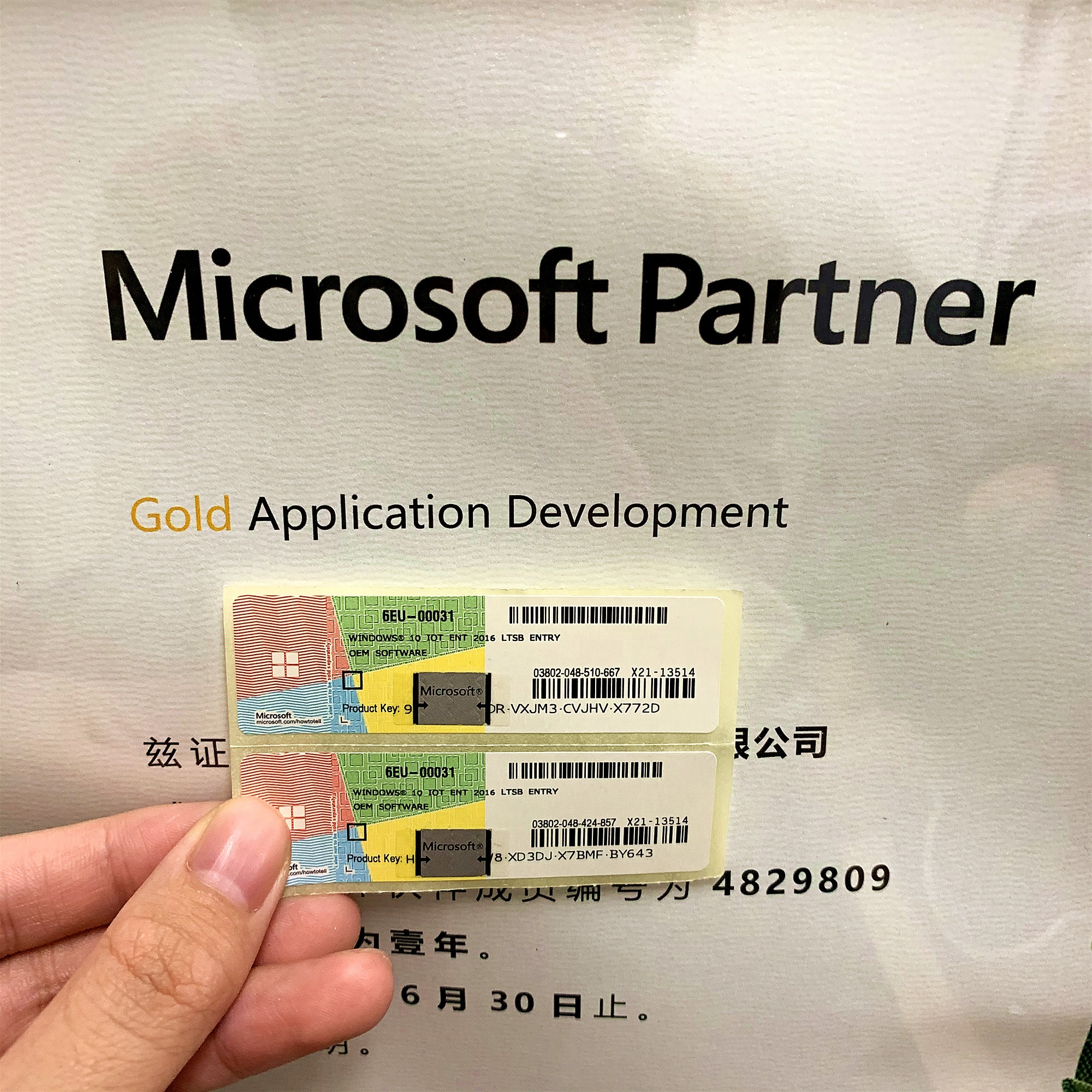 Global Version Microsoft Windows 10 Pro Software Windows 10 Pro Key COA Stickers 100% Online Activation
