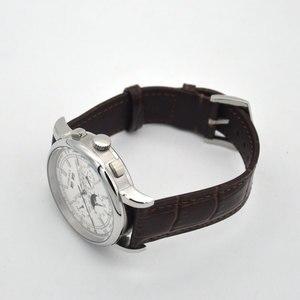 Image 2 - 42 ay fazı izle erkek hafta takvim yıl ay otomatik mekanik часы мужские механические montre homme 316L paslanmaz çelik