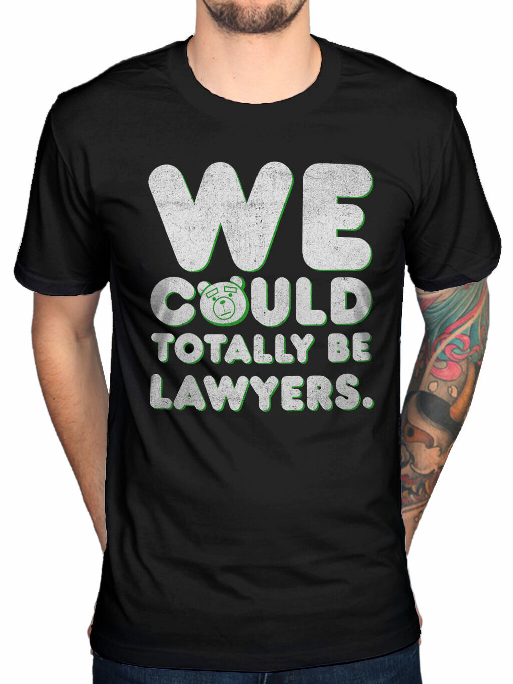 Official Ted 2 Lawyer Large T Shirt New Merch Movie Mark Wahlberg Teddy Bear image