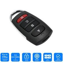 Für Garage Tor Tür Fernbedienung Schlüssel 2020 Universal Auto Alarm Remot Controller Duplizierer Klon Code Scanner Sicherheit Alarm