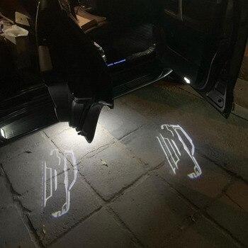 Luz de bienvenida para puerta, lámpara para Toyota Land Cruiser 2010, LC200, FJ200, 2019-200