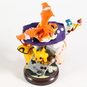 Image 5 - אנימה מפלצת מיו Charizard שרף פסל איור פעולה צעצועי אוסף מודל חג המולד מתנה