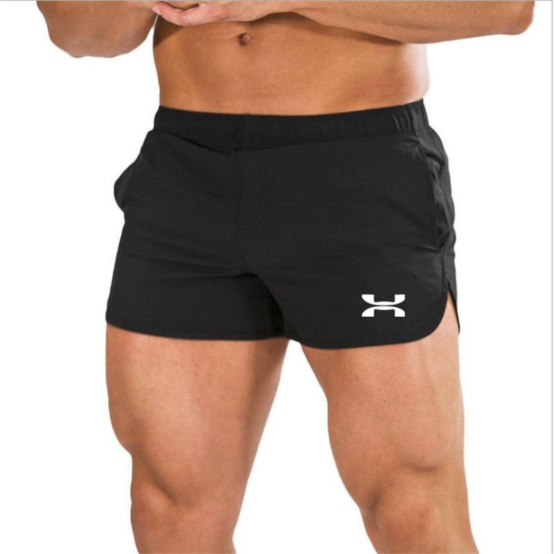 New 2020 Men Sports Short Pants Summer Casual Training Bodybuilding Workout Fitness Sports Short Pants Beach Shorts