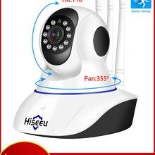 Baby Monitor Pet-Camera Hiseeu Surveillance CCTV Smart Home 1080P Wireless Audio 2-Way
