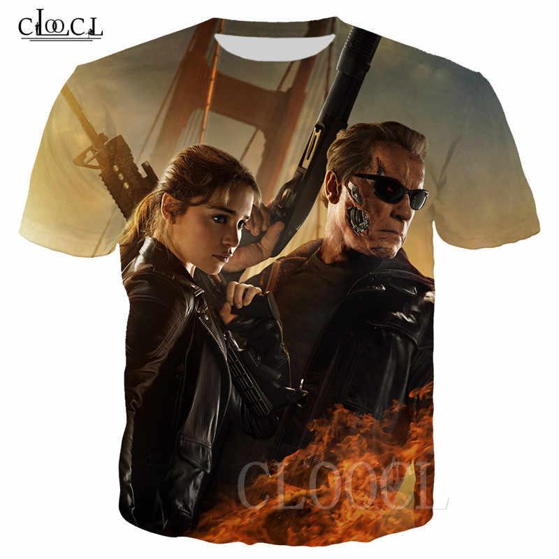 Più Nuovo T-Shirt 3D Stampa Film Terminator Scuro Fate T Camicette Manica Corta Tee Shirt Harajuku Uomini/Donne T-Shirt Hip hop Streetwear