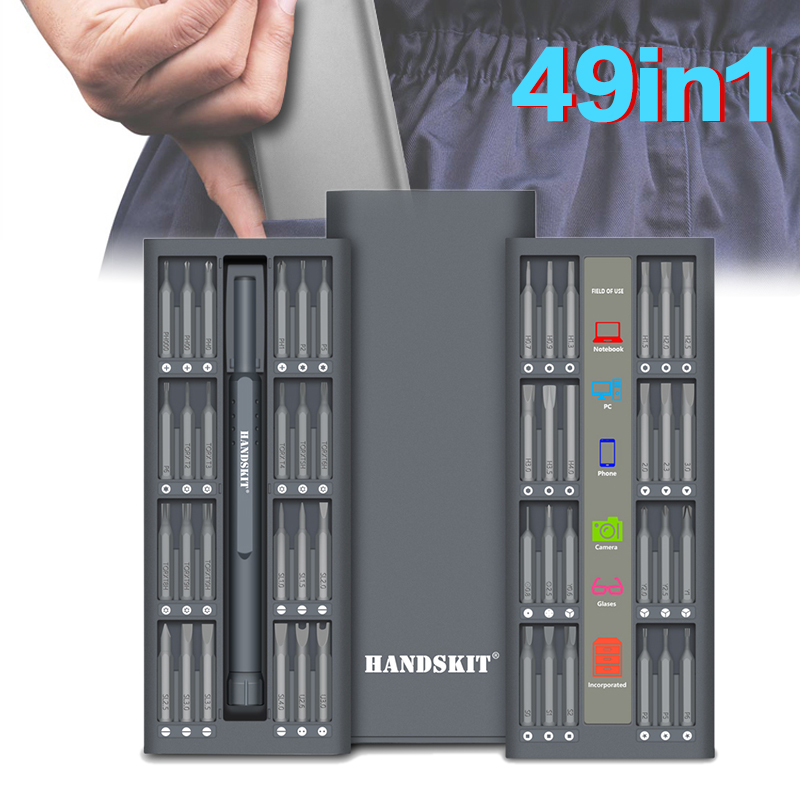 New Arrival 49 in 1 Precision Screwdriver Magnetic Screwdriver Set Electronics Multifunctional Screwdriver Set Repair Tool