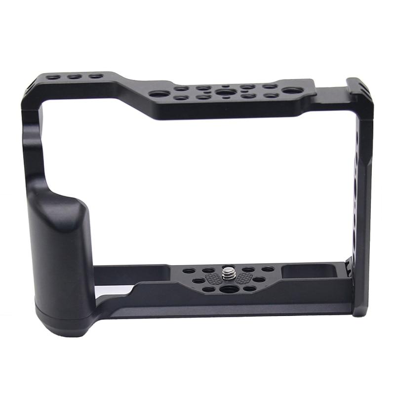 Alliage d'aluminium Cage de lapin caméra vidéo Protection caméra stabilisateur poignée supérieure système de cinéma pour Fujifilm XT2 XT3 XT-2 XT-3