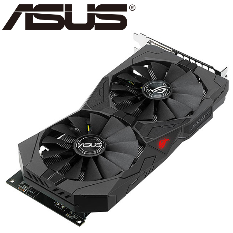 ASUS Video Card RX 570 4GB 256Bit GDDR5 Graphics Cards for AMD RX 500 series VGA Cards RX570 Used DisplayPort image