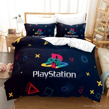 Bedding-Set Playstation-Geometry Quilt-Cover/duvet-Cover-Set Home-Textile Twin Full-Queen-King-Size