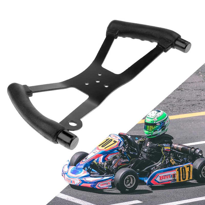 340x170mm gokart kierownica styl motyla Karting kierownica do jazdy kosiarka do trawy wyścigi gokart części 2019 nowy