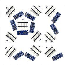10x Nano V3 modulo ATMega328 P CH340G 16MHz miniUSB Arduino compatibile