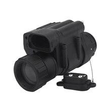 Инфракрасный монокуляр ночного видения 200 м расстояние ночного видения очки совместимы с шлемом, наблюдения за ночью и Digi