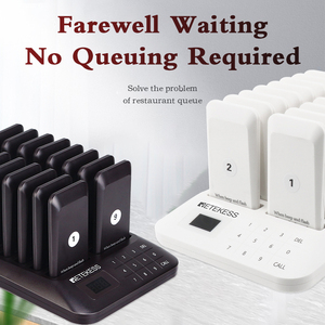 Image 2 - Retekess TD157ร้านอาหารPager Wireless Calling System 16 Pagerเครื่องรับสำหรับClinicร้านกาแฟWaiter Pagersคิวระบบ